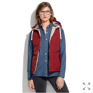 Madewell Penfield Lucedale Navy Puffy Vest